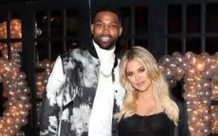 Tristan Thompson shares a three year old daughter with Khloe.