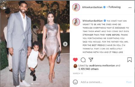 Khloe Kardashian says she is expecting second child with Thompson.