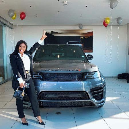 Boity Thulo recently received a luxury Mercedez car in birthday gift.
