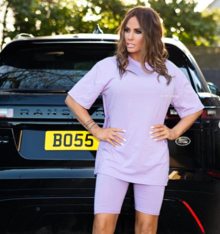 Katie Price was once filed for bankruptcy in 2000s.