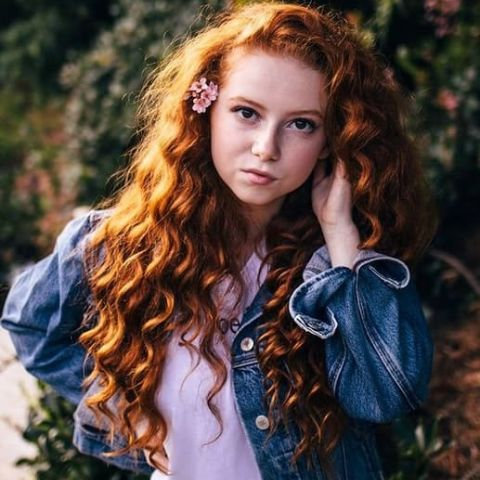 Francesca Capaldi began acting at the age of one.
