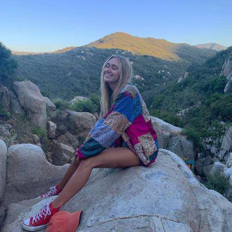 Emily Skinner she grew up in Trabuco Canyon, Orange County, California.