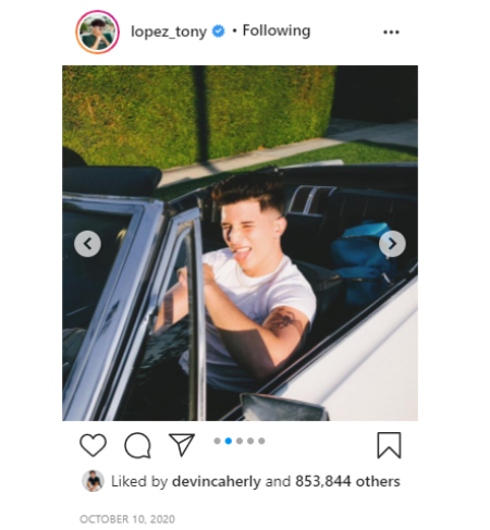 Tony Lopez has an estimated net worth of $2 million.