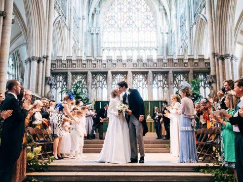 Ellie Goulding and Caspar Jopling wedding