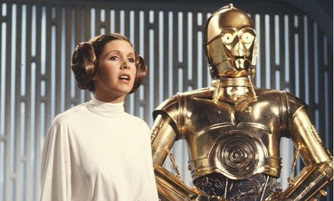 Carrie Fisher will be known as Princess Leia from Star Wars, a role for which she was nominated for four Saturn Awards.