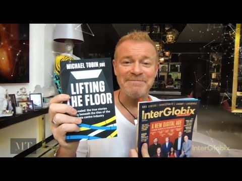 Michael Tobin is selling his books and earning money.