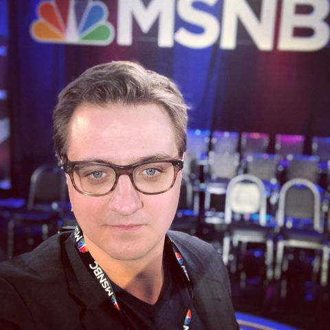 He is famous for hosting All in with Chris Hayes, a weekday news and opinion television show on MSNBC.
