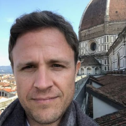 Chris Livesay is married and lives with his wife in Rome.