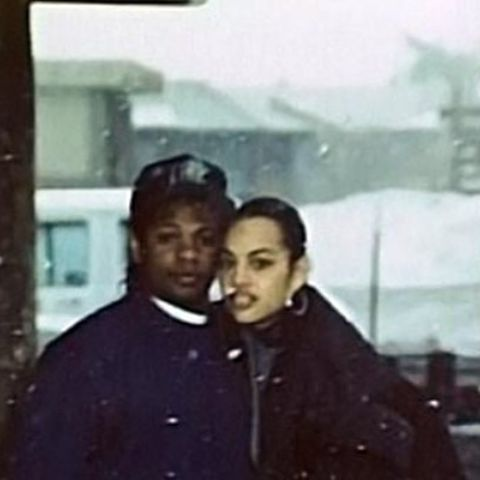 Eazy-E and Tomica Wright began dating after meeting in a nightclub in 1991.