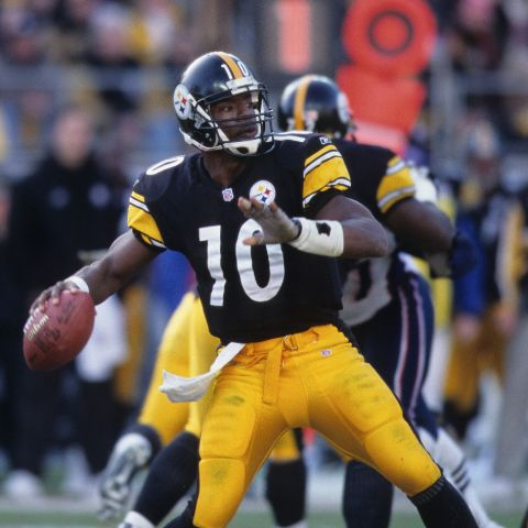 Kordell Stewart's mother died when he was twelve, following a long struggle with liver cancer.