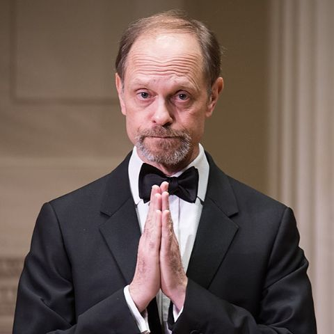 """David Hyde Pierce made his Broadway debut in Christopher Durang's """"Beyond Therapy."""""""