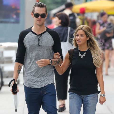 Ashley Tisdale's first relationship began in 2007 when she began dating Jared Murillo.