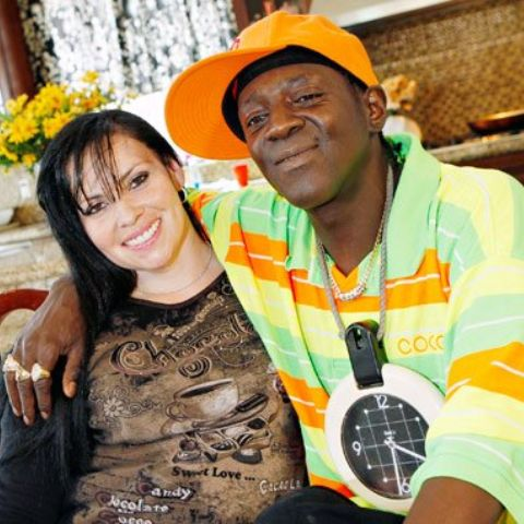 Flavor Flav's first wife, Karen Ross, married in 1986 but divorced after admitting to abusing her.