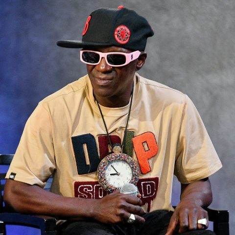 Flavor Flav began playing piano at the age of five after self-teaching himself.