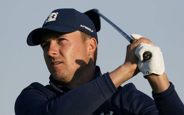 Jordan Spieth began by playing golf on his family's lawn.