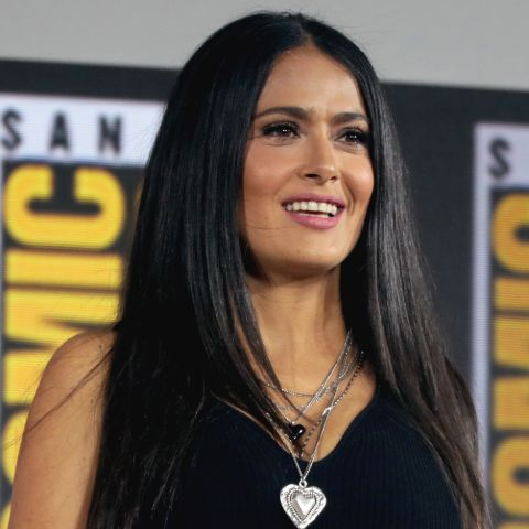Salma Hayek was only twelve years old when she enrolled in the Sacred Heart Academy in Grand Coteau, Louisiana.