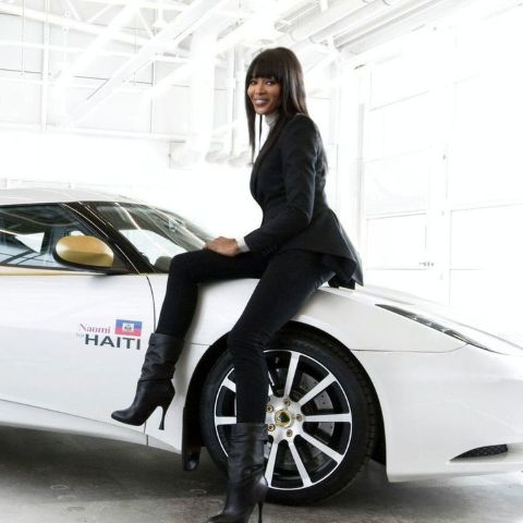 Naomi Campbell was discovered when she was 15 years old .