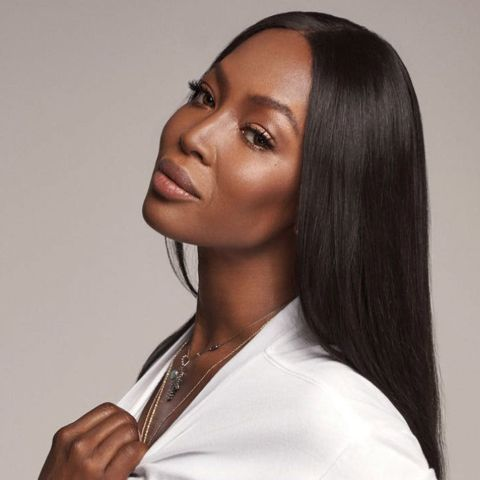 Naomi Campbell adopted her stepfather's surname.