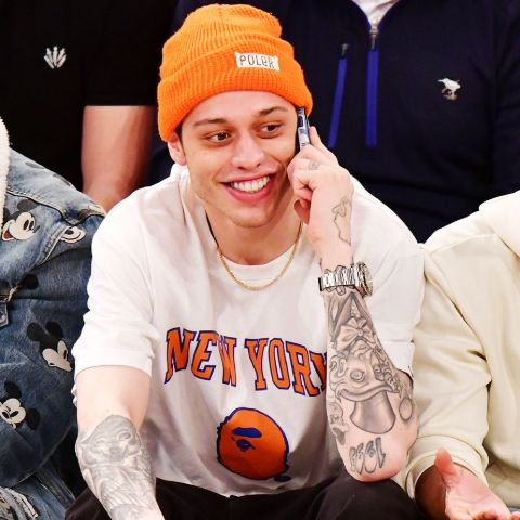 Pete Davidson's first stand-up comedy gig was at a Staten Island bowling alley when he was 16 years old.