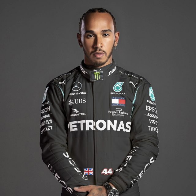 Lewis Hamilton was hired as an official Formula One McLaren driver