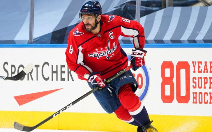 Alexander Ovechkin made his Russian Super League debut for Dynamo Moscow at the age of 16.