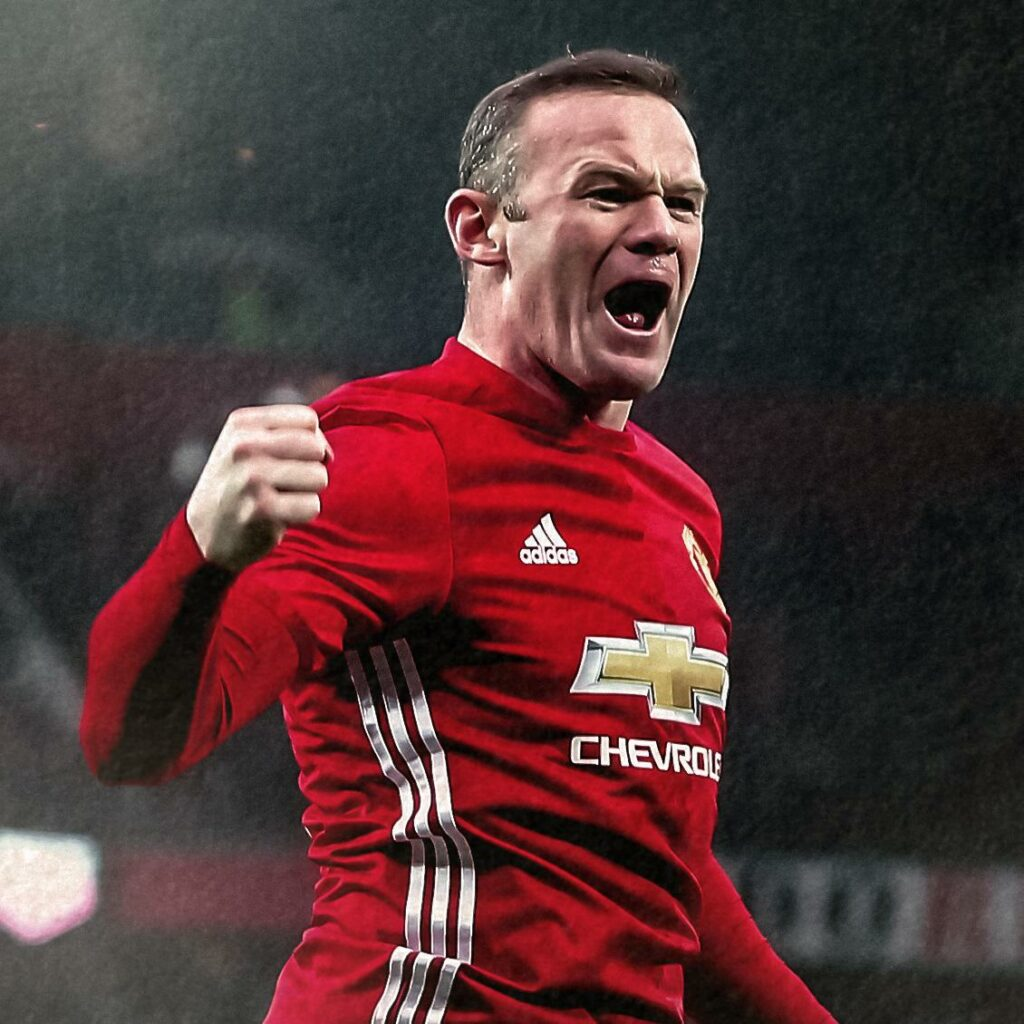 Wayne Rooney signed a three-year contract with D.CD.C.