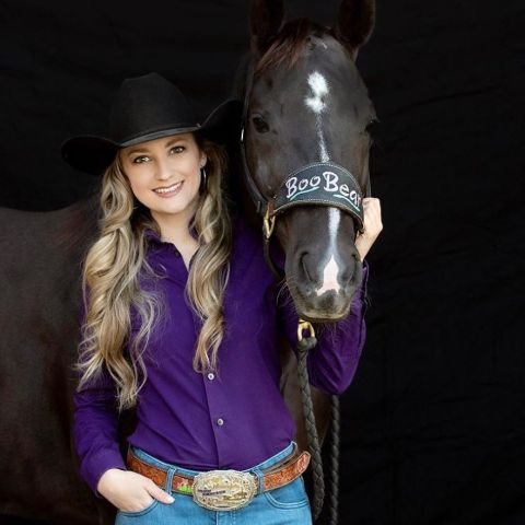 Jennifer Brennan loves horse riding.