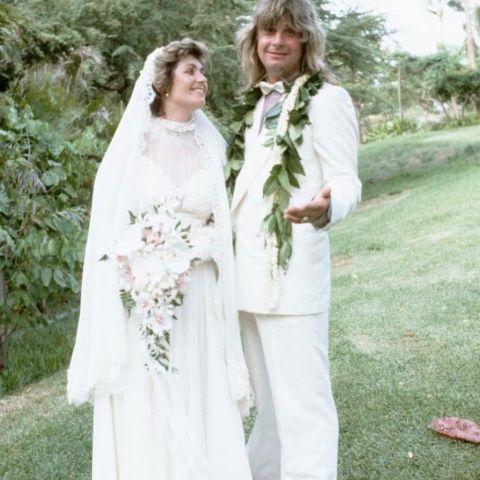 Sharon Osbourne married to Ozzy Osbourne.