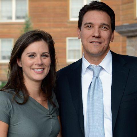 Erin Burnett married her spouse in December of 2012.