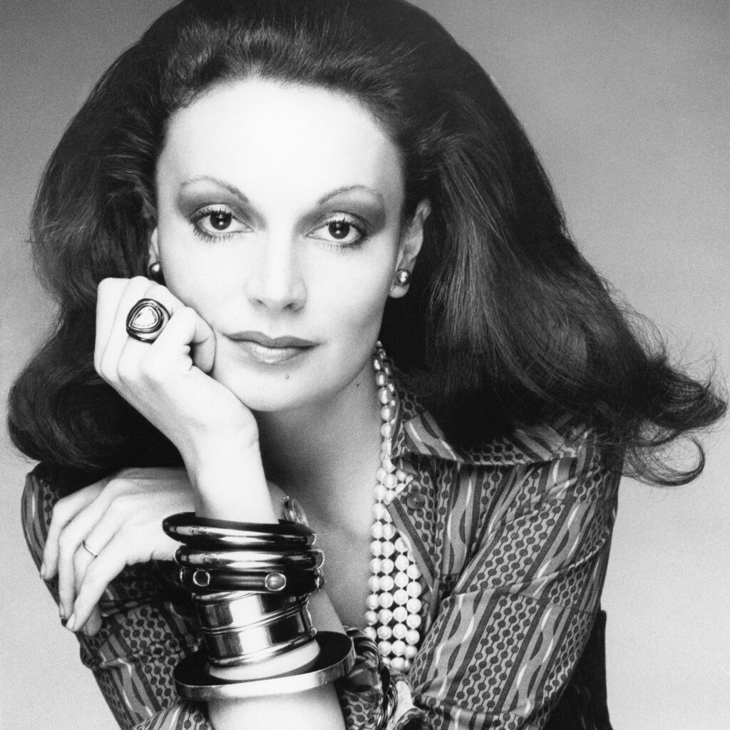 Diane Von Furstenberg's parents were both Jewish, her father from the Republic of Moldova and her mother from Greece.