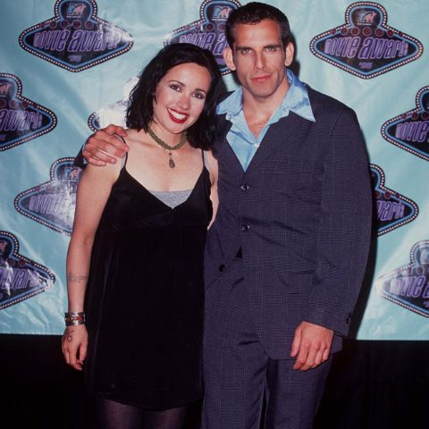 Janeane Garofalo was married to Ben Stiller.