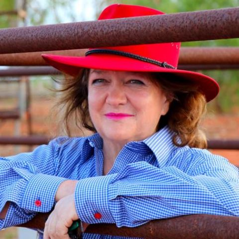 Gina Rinehart lived with her parents at Nunyerry, 37 miles north of Wittenoom, until she was four years old.