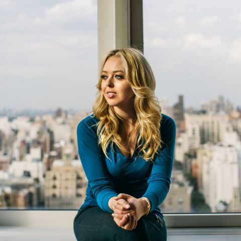 """Tiffany Trump debuted the electronic pop song """"Like a Bird"""" when she was 17 years old."""