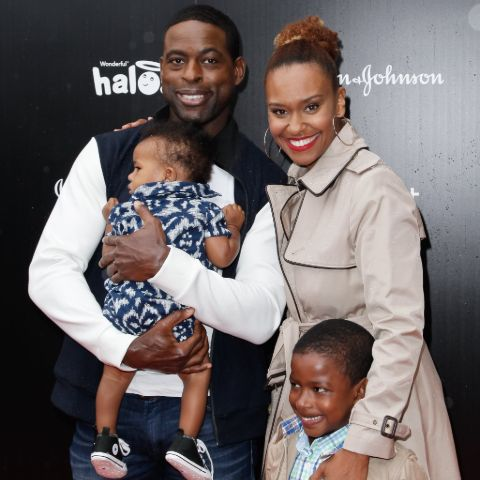 Sterling K. Brown admitted that parenting on the program was far easier than in real life.
