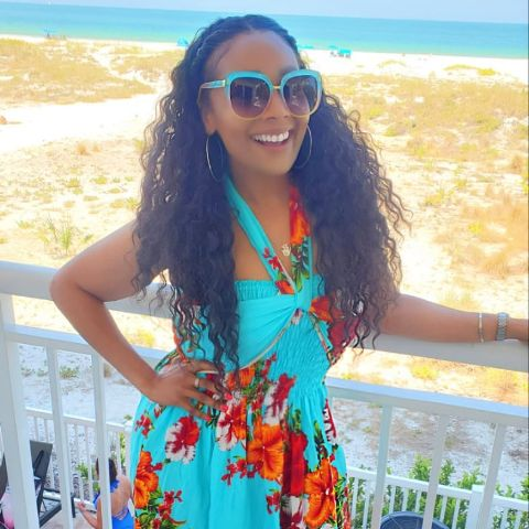 Shea Hicks Whitfield is enjoying her vacation.