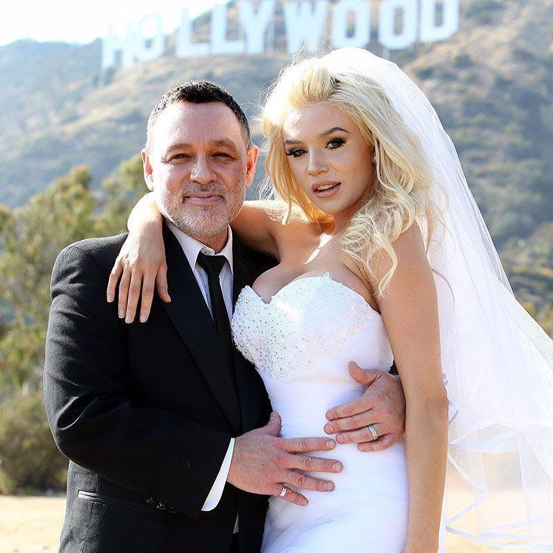 Courtney Stodden 's father was four years younger than his son-in-law Anthony, according to reports.