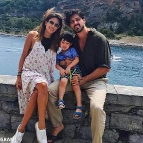 Rouba Saadeh and her ex-husband had married in 2014.