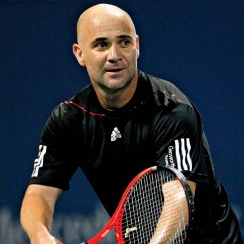 Andre Agassi began his professional career in 1986 at the age of 16.