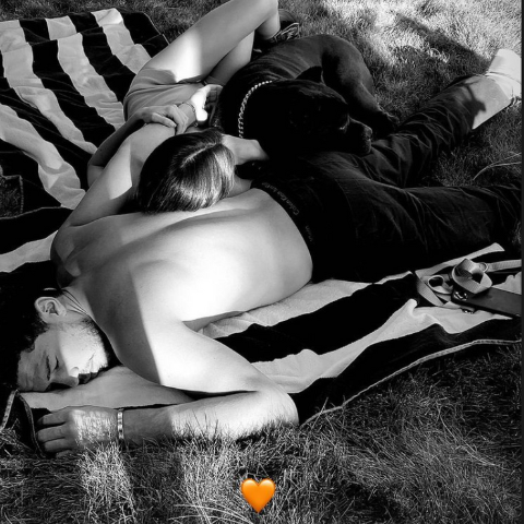 kendall Jenner and Devin Booker are happy with each other.