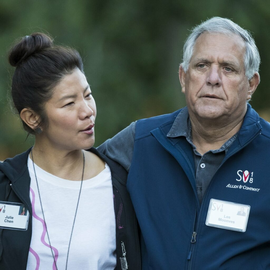 Charlie Moonves's Fathers' was paid approximately $70 million a year.