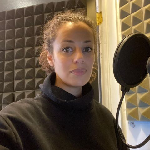 Athena Karkanis is a voice over artist.