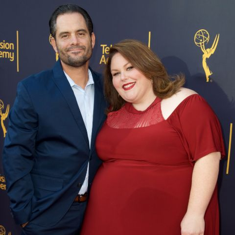 Martyn Eaden and Chrissy Metz married in a private ceremony attended by family and friends in 2008.