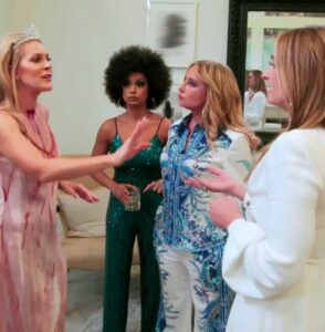 Heather Thomson stated on Housewives Nightcap that Williams bears some of the guilt for how the issue evolved.