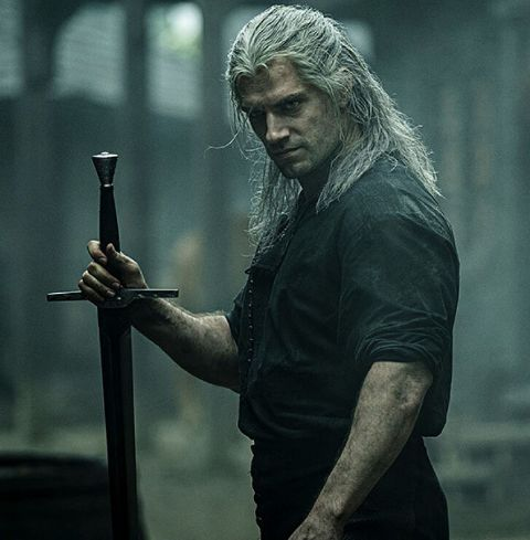 Henry Cavill's Geralt is hidden behind cryptic flashes of the dangers to come for the character.
