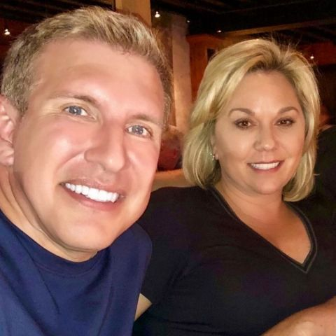 Todd Chrisley is a married man.
