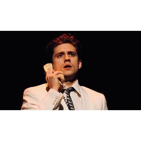 Aaron Tveit is a theatre actor.