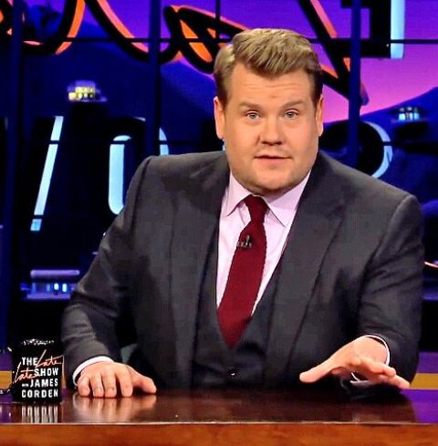 """James Corden did not say how he planned to change """"Spill Your Guts."""""""