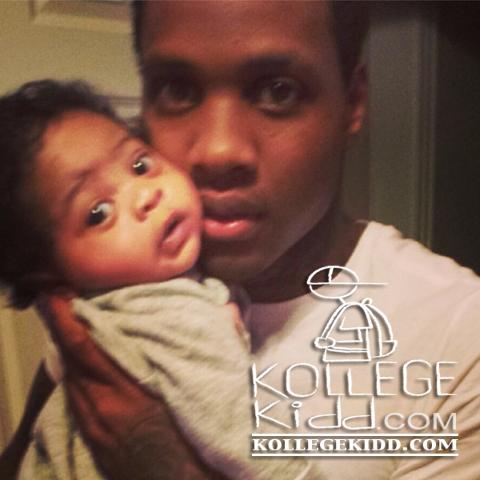 Zayden Banks is son of famous rapper.
