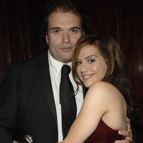 Brittany Murphy's first high-profile romance was with Ashton Kutcher in 2002.