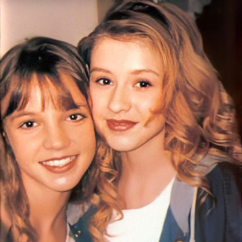 Christina Aguilera and Britney Spears both are singer.